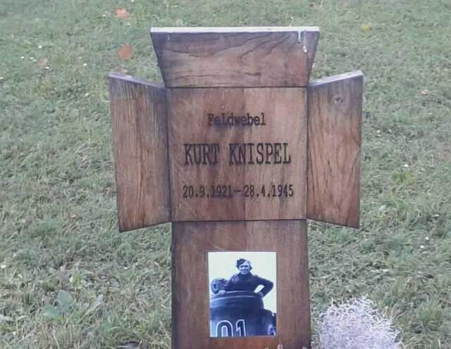 Kurt Knispel tombstone, Third Reich graves worldwartwo.filminspector.com
