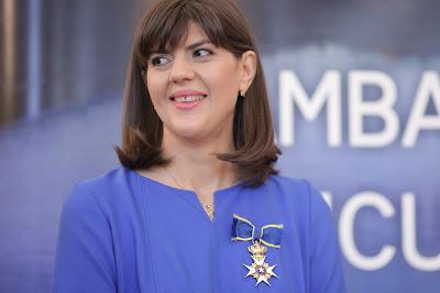 Laura Codruța Kövesi, doktori disszertáció, plágium, Románia, Sebastian Ghiță, CNATDCU