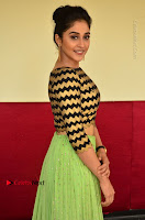 Actress Regina Candra Latest Pos in Green Long Skirt at Nakshatram Movie Teaser Launch  0128.JPG