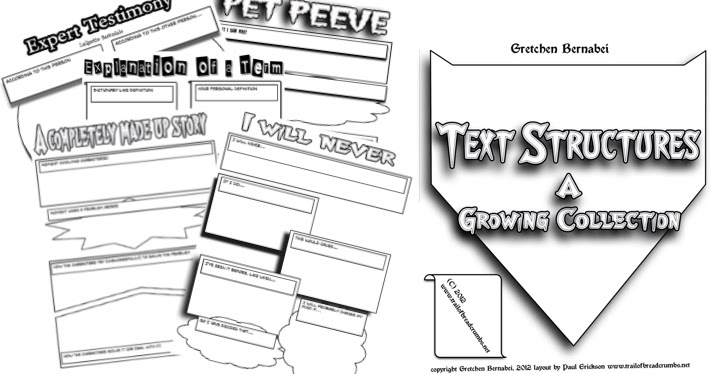 Bernabei Writing Tools: Comic Book Text Structures