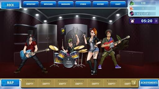 Download Music Awards Manager – famous band management game