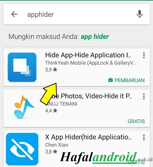 Unduh Hide App Untuk Xiaomi