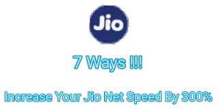 7 tricks to increase your jio 4g internet speed