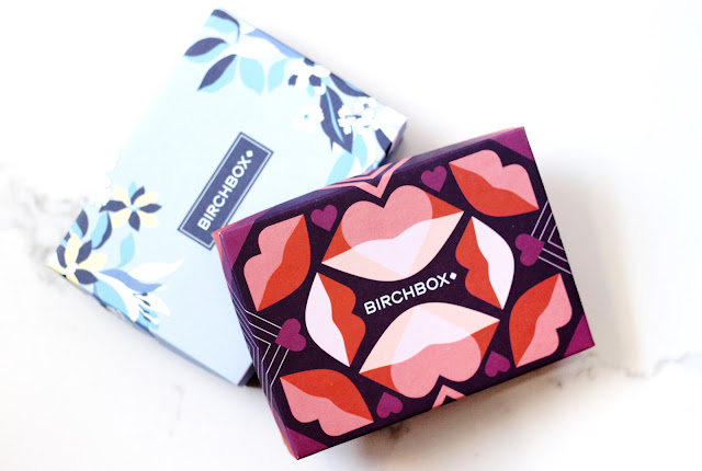 Birchbox february and March