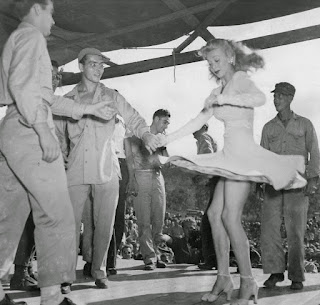 Carole Landis Dancing With A Soldier
