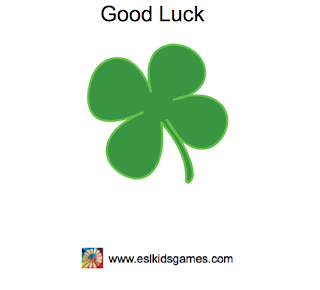 Good Luck eslkidsgames.com St Patrick's Day