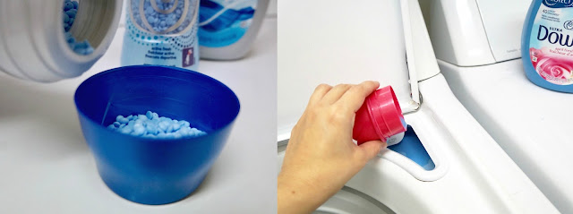 How to use both Downy Liquid Fabric Conditioner and Down Fresh Protect beads