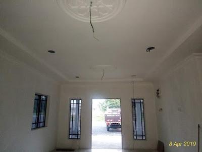 Pemasangan Dome di Ruang Tamu
