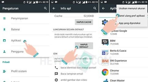 Cara Mengubah Aplikasi Default Android