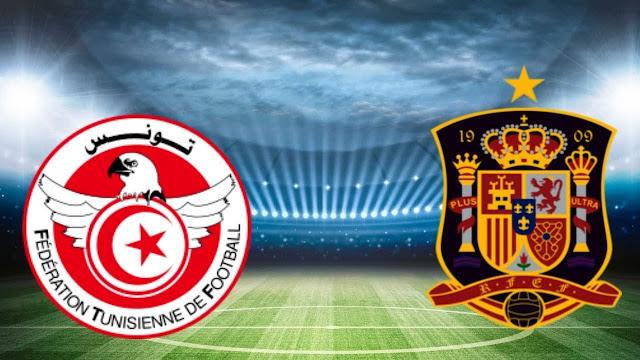 Tunisia vs Spain Full Match Replay 09 June 2018