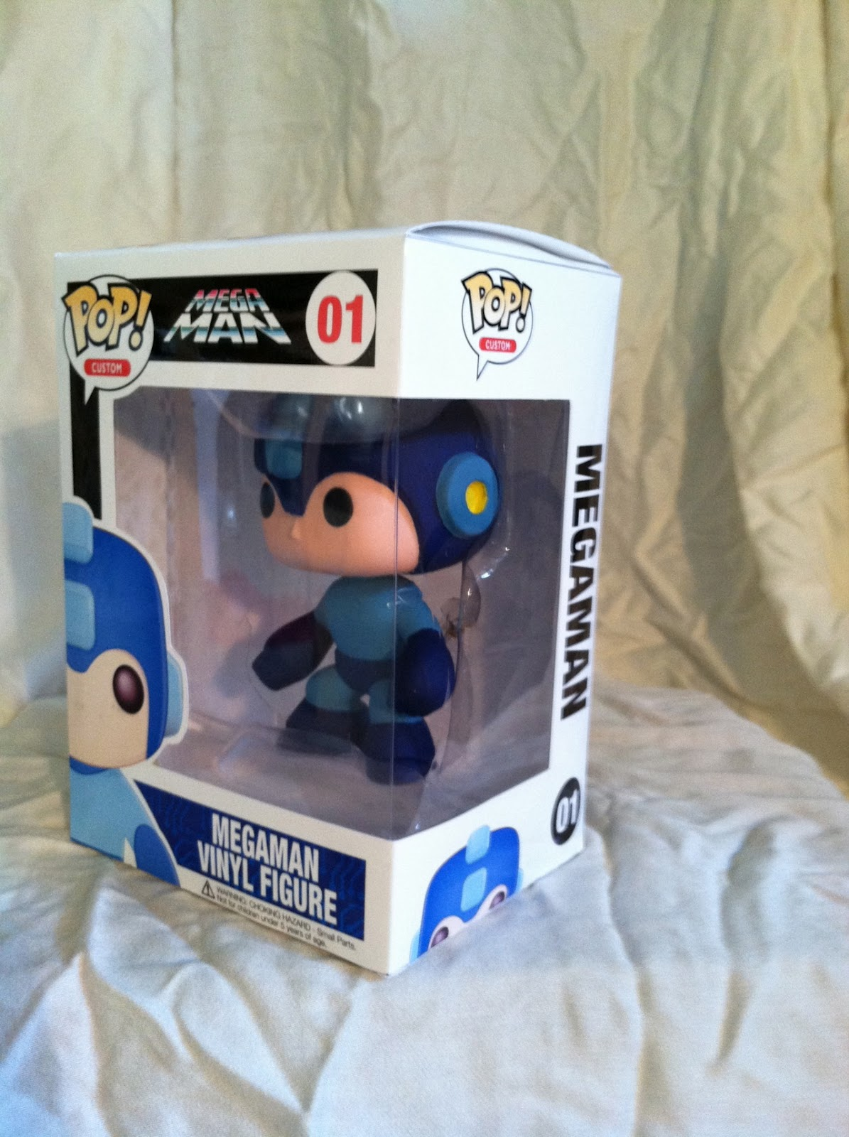 Rockman Corner Custom Pop Vinyl Mega Man Is All Kinds Of