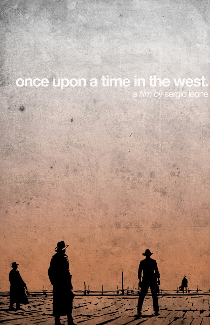 Once Upon a Time in the West, opening railway station sequence, Directed by Sergio Leone, Spaghetti Western