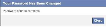 how to reset facebook password without old password