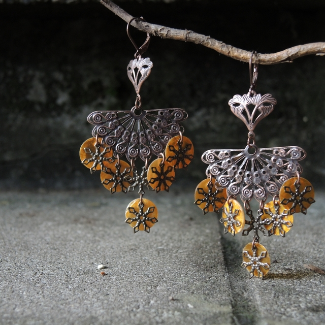 gratis/free tutorial voor oorbellen/earrings