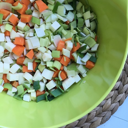 [Basics] Weiße Bohnen-Suppe ~ Suppe aus getrockneten Hülsenfrüchten kochen