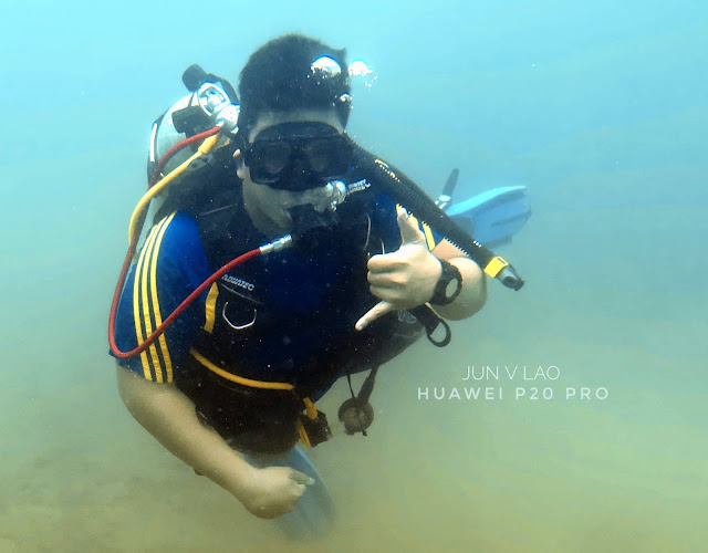scuba diving, underwater Photography, huawei p20 pro underwater, paparazsea, jun v lao