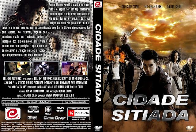 Capa DVD Cidade Sitiada [Exclusiva]