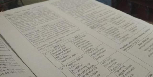Ansor Polisikan Disdik Garut Terkait Soal Ujian yang Pojokkan Banser