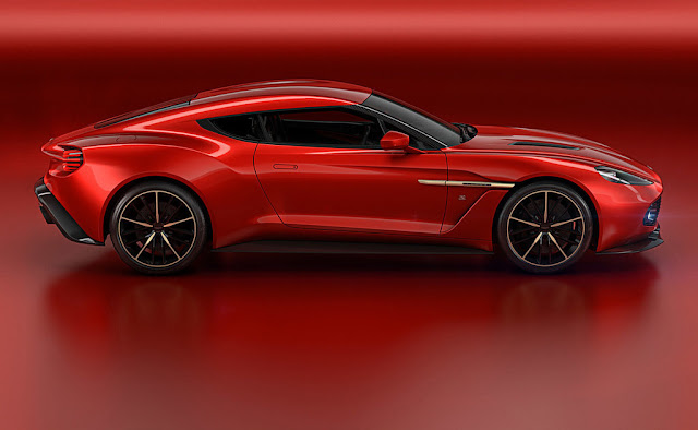 2016 Aston Martin Vanquish Zagato Concept Side Wallpaper