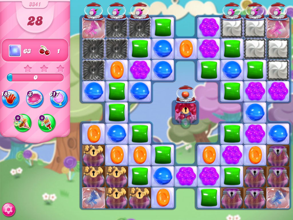 Candy Crush Saga level 3341