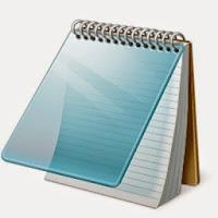 حل مشكلة الكتابة بالعربية في المذكرة bloc-note و notpad