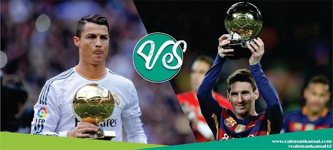 Belajar dari rivalitas Ronaldo dan Messi