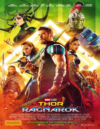 Thor Ragnarok (2017) English 720p