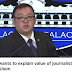 "Int'l Political Commentator slams Roque for teaching ""value of legitimate journalist"""
