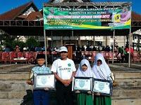 Siswa Madrasah Ibtidaiyah Raih Penghargaan Hari Lingkungan Hidup se Dunia