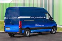 Mercedes-Benz eSprinter Panel Van (2019) Rear Side