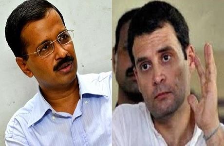 बम विस्फोट के दोषियों और आतंकवादियों का समर्थन कर रहे हैं केजरीवाल: राहुल गांधी
