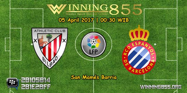 Prediksi Skor Athletic Bilbao vs Espanyol 05 April 2017