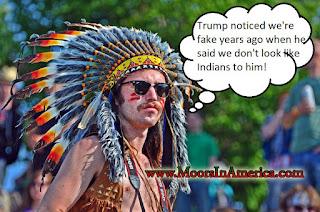 fake indian