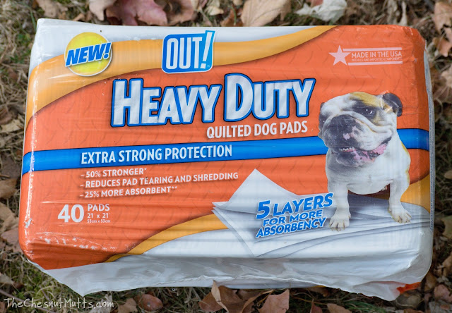 OUT! Heavy Duty Quilted Dog Pads