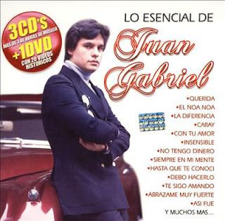 Juan Gabriel – Lo Esencial De Juan Gabriel 3 CD'S (2008)