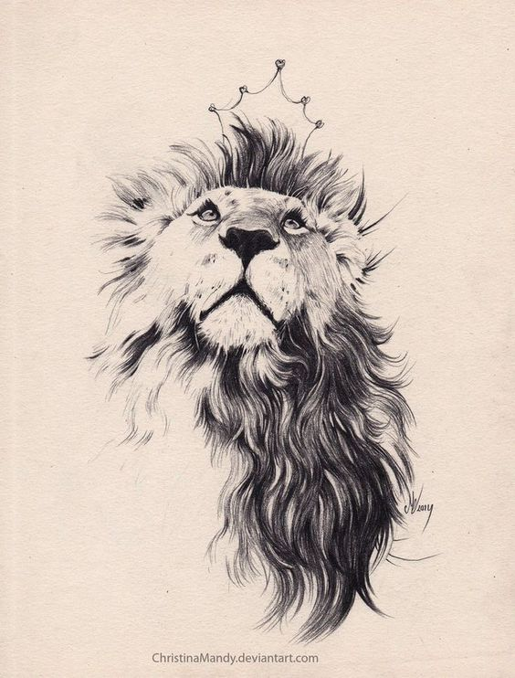 Hot lion tattoo designs for women