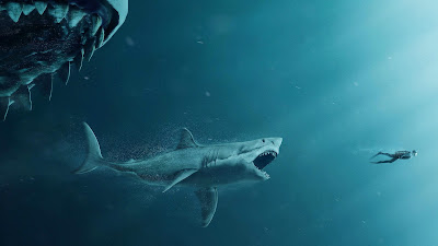 the meg movie image shark