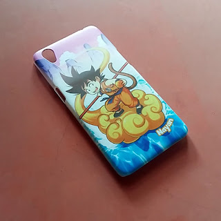 casing gambar dragon ball