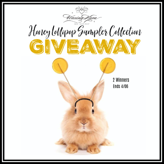Honey Lollipop Sampler Giveaway