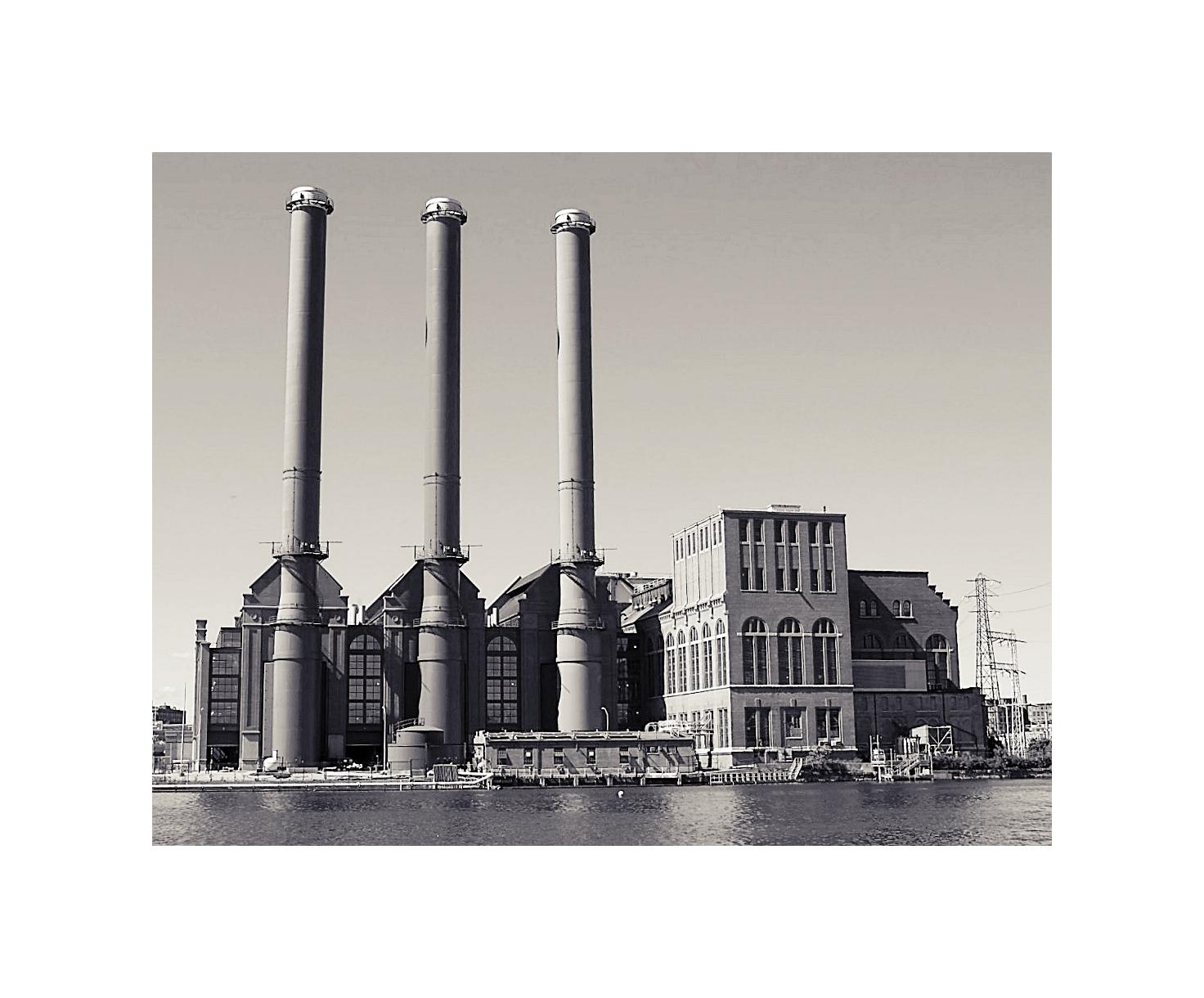 9164d71bf4 Manchester Street Power Station in Providence, R.I.   BlueisKewl