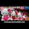 Boneka HELLO KITTY Dress Love (Ukuran S, M, L, XL)