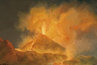 8. Gunung Vesuvius Erupsi