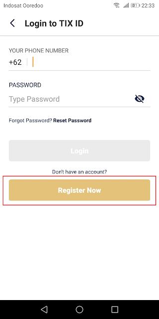 Cara Mudah Daftar dan Beli Tiket di TIX ID Terbaru