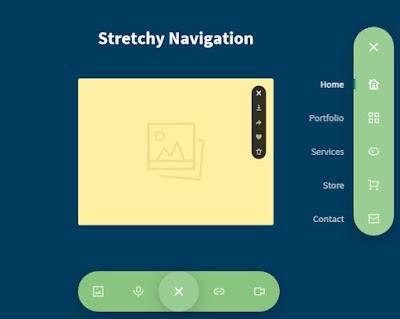 Navigation Menus CSS3 & jQuery - Dros4U