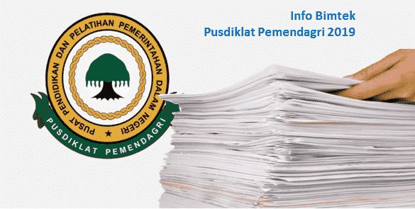 Informasi Jadwal Lokasi dan Materi Bimtek Pusdiklat Pemendagri