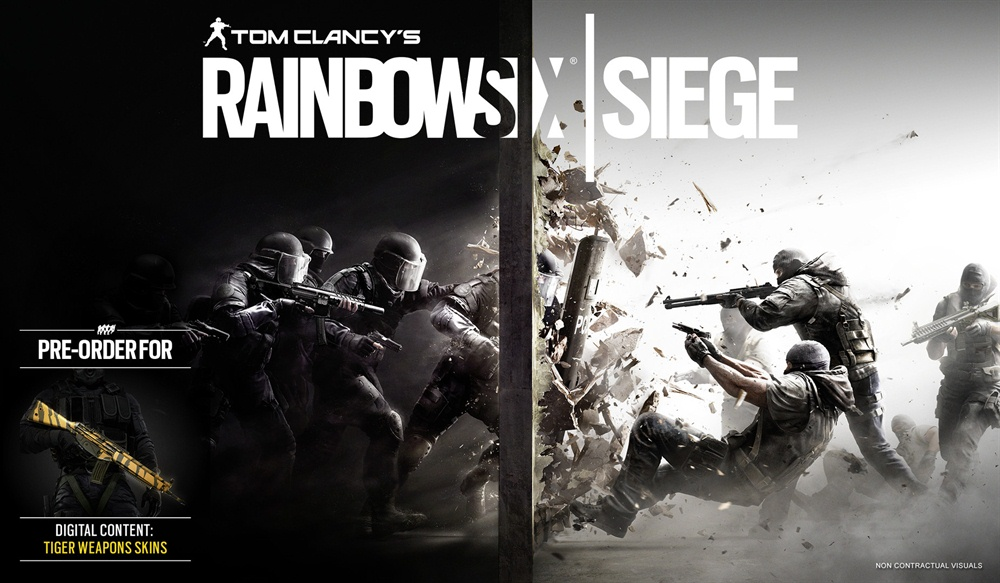 Tom Clancy's Rainbow Six Siege Download Poster