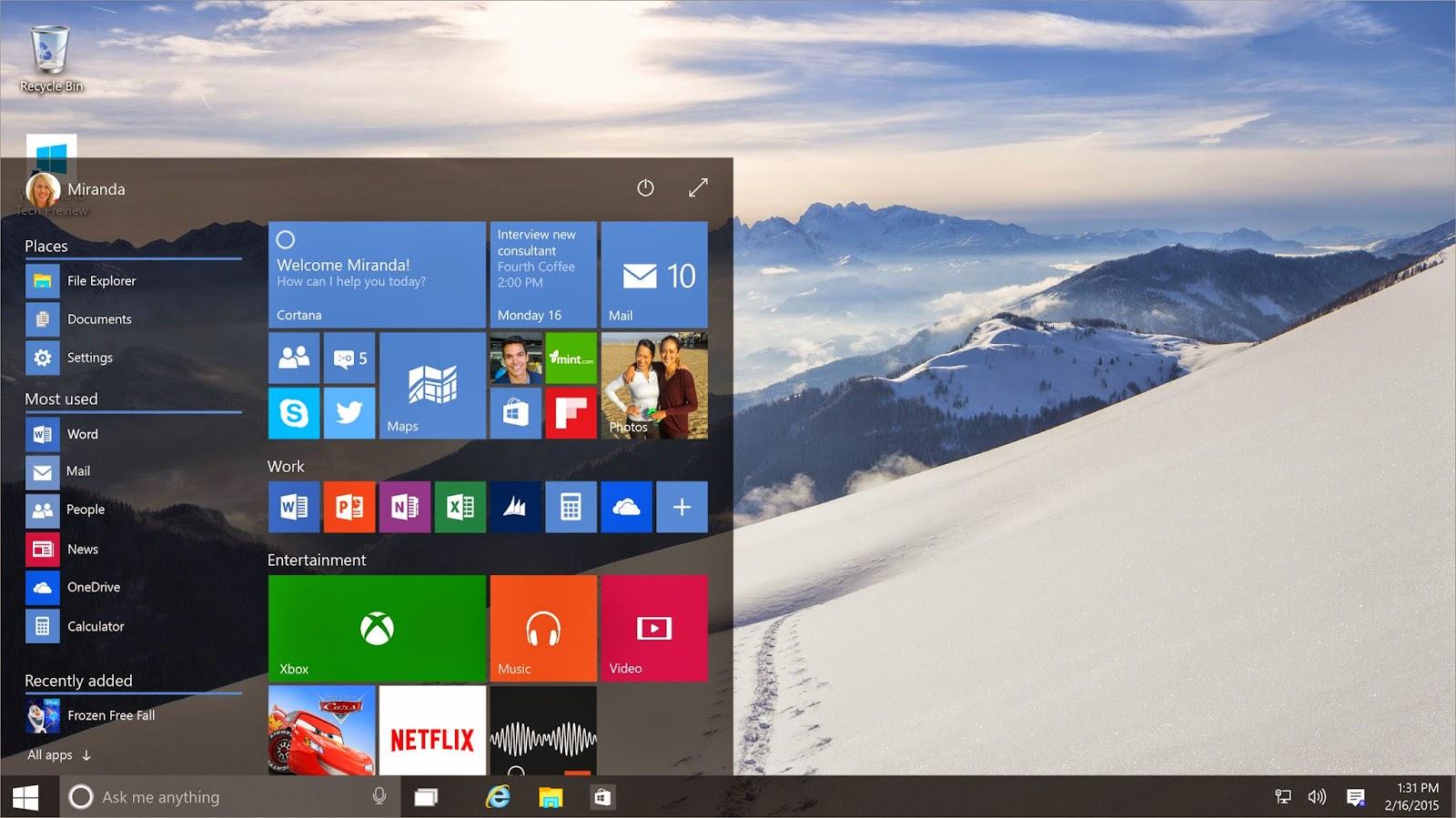 Asik, Windows 10 Bisa Dimiliki Secara Gratis