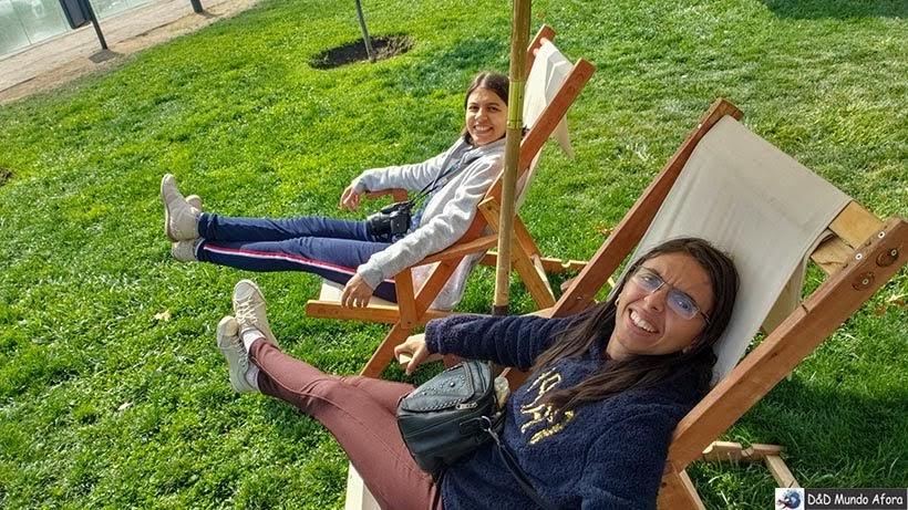 Parque Bicentenário - o que fazer em Santiago