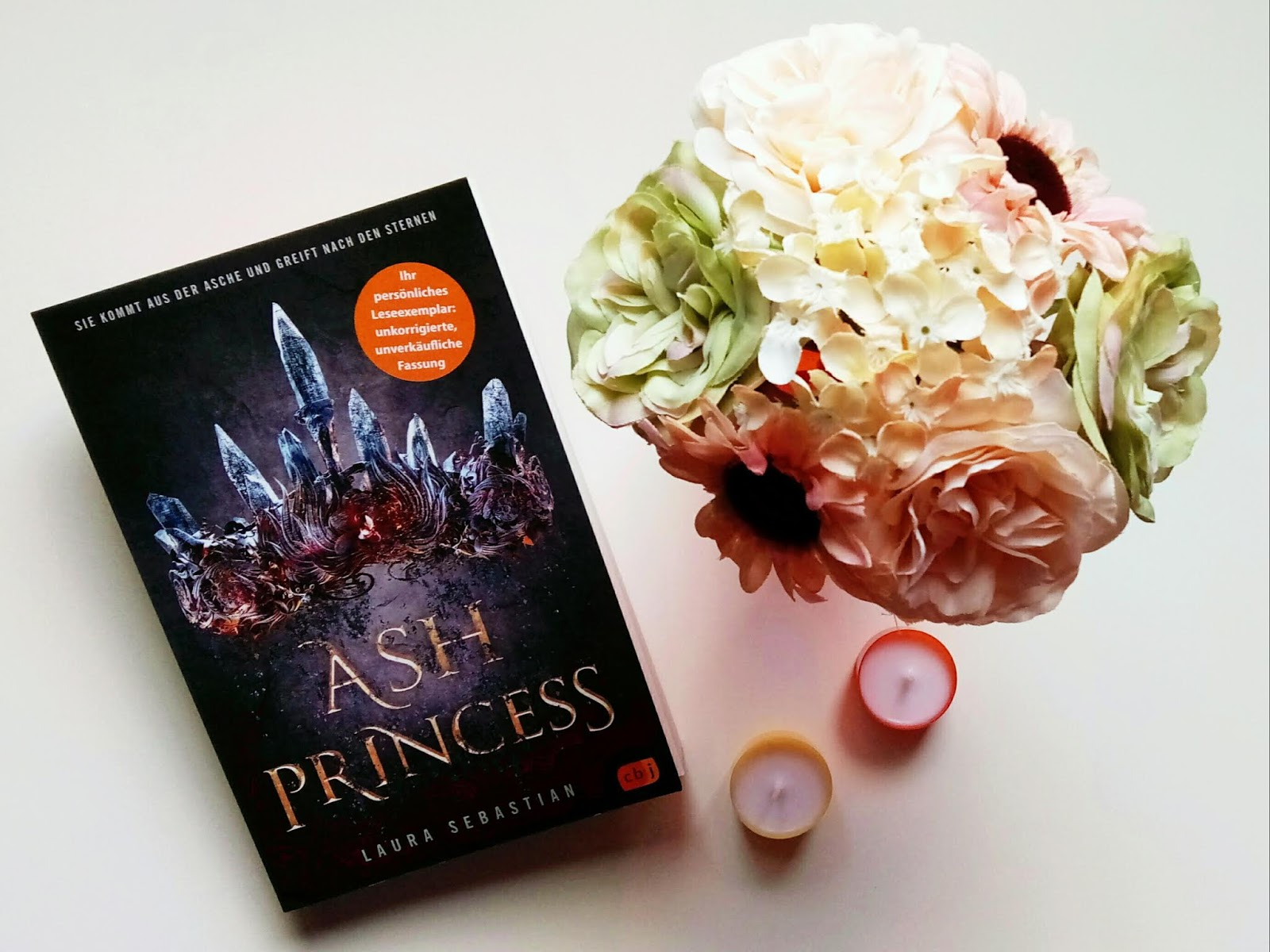 {Rezension} Ash Princess | Laura Sebastian | WERBUNG