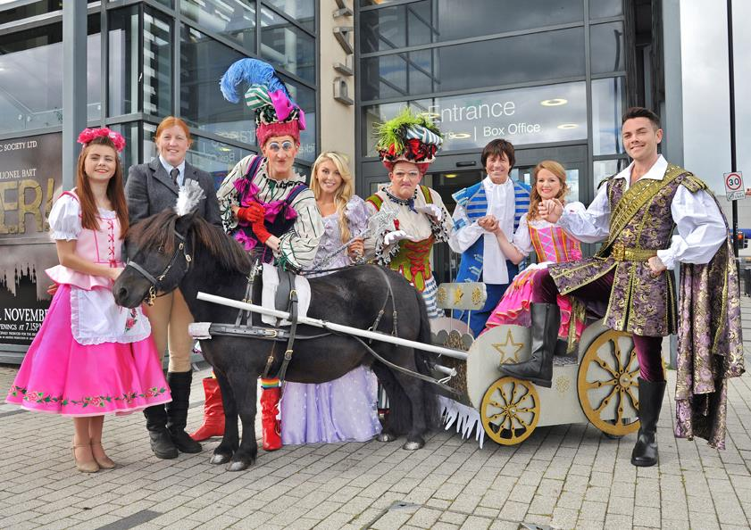 25+ Pantomimes & Christmas Shows across North East England 2018 (for all budgets)  - Cinderella in Whitley Bay